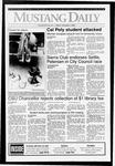 Mustang Daily, October 9, 1992