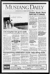 Mustang Daily, October 13, 1992