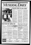Mustang Daily, October 15, 1992