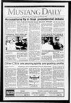 Mustang Daily, October 20, 1992