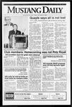Mustang Daily, October 23, 1992