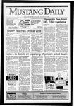Mustang Daily, October 27, 1992