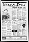 Mustang Daily, October 28, 1992