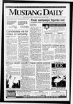 Mustang Daily, October 29, 1992