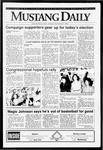 Mustang Daily, November 3, 1992