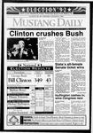 Mustang Daily, November 4, 1992