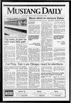 Mustang Daily, November 6, 1992