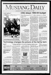 Mustang Daily, November 16, 1992