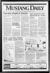 Mustang Daily, November 19, 1992