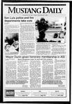 Mustang Daily, November 20, 1992
