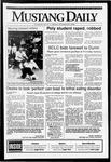 Mustang Daily, November 23, 1992