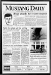 Mustang Daily, January 8, 1993