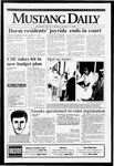 Mustang Daily, January 11, 1993