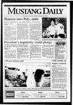 Mustang Daily, January 22, 1993