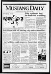 Mustang Daily, January 25, 1993