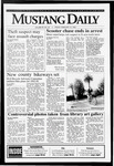 Mustang Daily, February 12, 1993