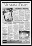 Mustang Daily, March 8, 1993