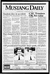 Mustang Daily, April 1, 1993