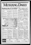 Mustang Daily, April 5, 1993