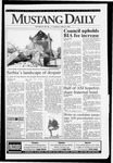 Mustang Daily, April 8, 1993