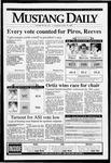 Mustang Daily, April 15, 1993