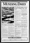 Mustang Daily, May 26, 1993