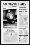 Mustang Daily, September 29, 1993