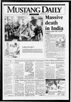 Mustang Daily, October 1, 1993