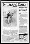 Mustang Daily, October 7, 1993