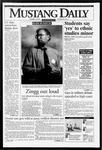 Mustang Daily, October 13, 1993