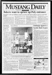 Mustang Daily, October 18, 1993