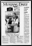 Mustang Daily, October 25, 1993