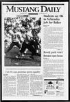 Mustang Daily, November 3, 1993