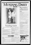 Mustang Daily, November 5, 1993