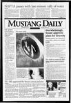 Mustang Daily, November 18, 1993