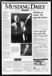 Mustang Daily, November 22, 1993