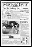 Mustang Daily, November 29, 1993
