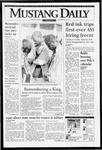 Mustang Daily, January 14, 1994