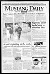 Mustang Daily, January 25, 1994