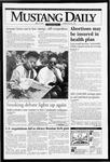 Mustang Daily, April 19, 1994