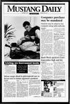 Mustang Daily, October 3, 1994