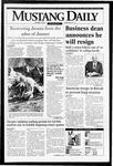 Mustang Daily, October 10, 1994