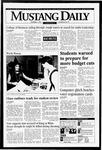 Mustang Daily, November 1, 1994