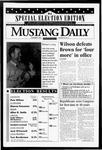 Mustang Daily, November 9, 1994