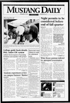 Mustang Daily, November 18, 1994
