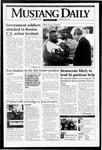 Mustang Daily, November 21, 1994
