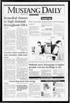 Mustang Daily, January 12, 1995