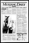 Mustang Daily, January 18, 1995