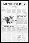 Mustang Daily, January 24, 1995