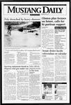 Mustang Daily, January 25, 1995